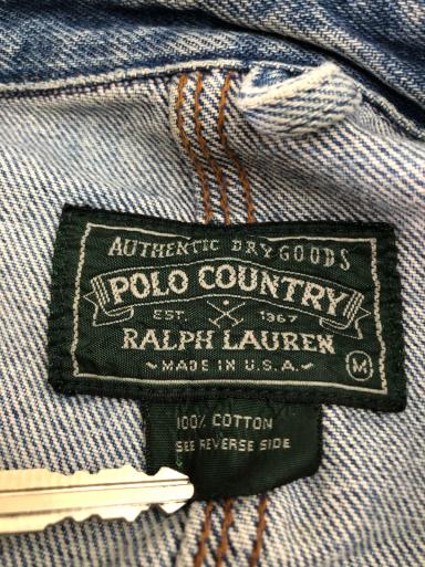 アメリカ仕入れ情報#14 80s~Made in USA Polo country  デニム カバーオール_c0144020_11425871.jpg