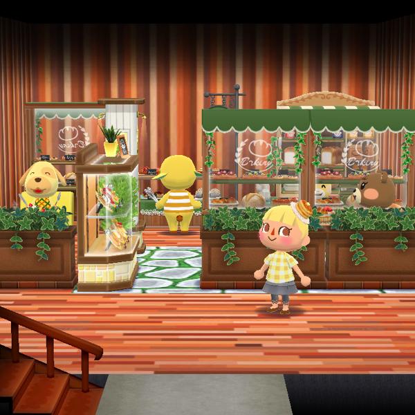 森 コテージ 二階 ポケ