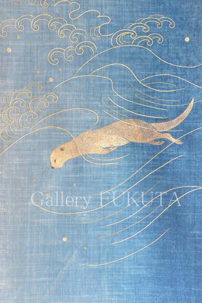 昨日で「加賀蒔絵と日本刺繍」展終了致しました。_c0161127_15172748.jpg