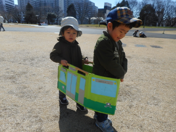 On Patrol In The Park!_d0148342_17022603.jpg