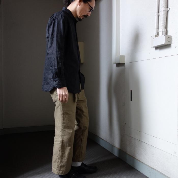 5月の製作 / DA indigolinen easy shirt by dealer made [別注品]_e0130546_13214833.jpg