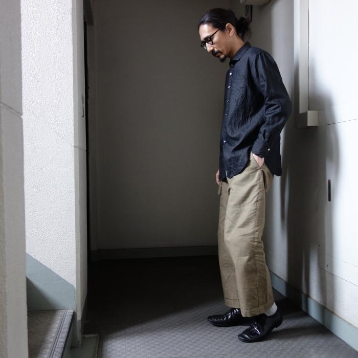 5月の製作 / DA indigolinen easy shirt by dealer made [別注品]_e0130546_13220566.jpg