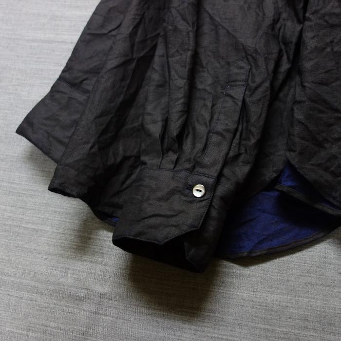 5月の製作 / DA indigolinen easy shirt by dealer made [別注品]_e0130546_13241452.jpg