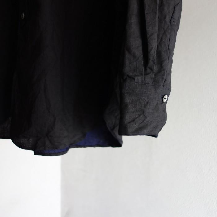 5月の製作 / DA indigolinen easy shirt by dealer made [別注品]_e0130546_13255387.jpg