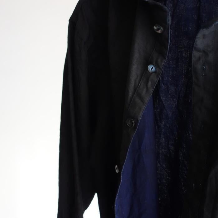 5月の製作 / DA indigolinen easy shirt by dealer made [別注品]_e0130546_13261927.jpg