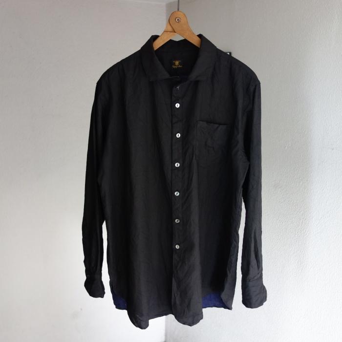 5月の製作 / DA indigolinen easy shirt by dealer made [別注品]_e0130546_13264473.jpg