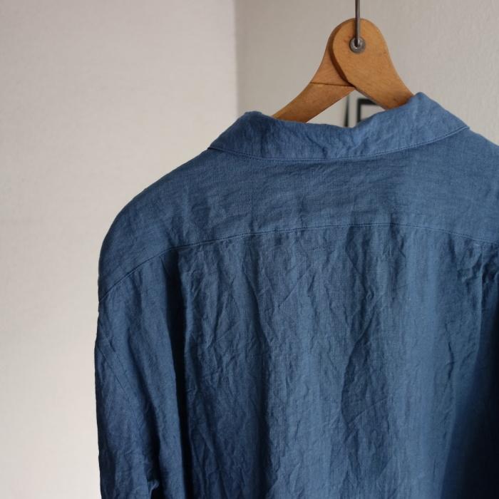 5月の製作 / DA linen easy shirt_e0130546_13311089.jpg