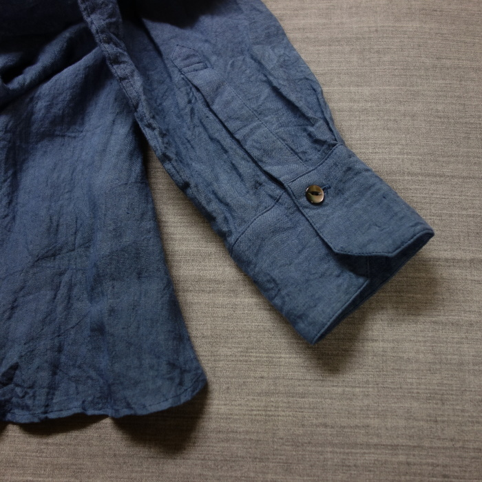 5月の製作 / DA linen easy shirt_e0130546_13330461.jpg
