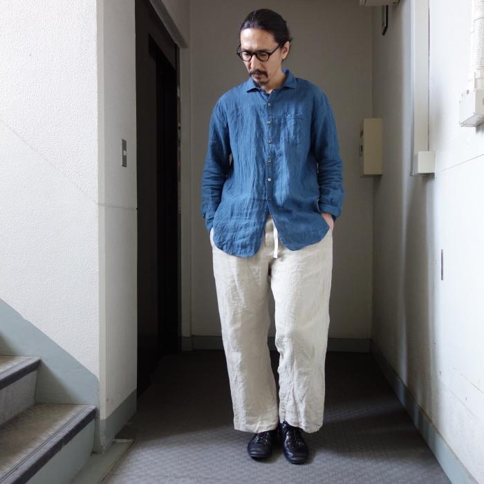 5月の製作 / DA linen easy shirt_e0130546_13345987.jpg