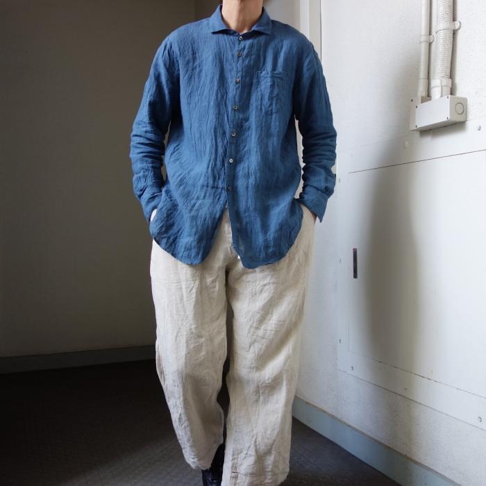 5月の製作 / DA linen easy shirt_e0130546_13351841.jpg