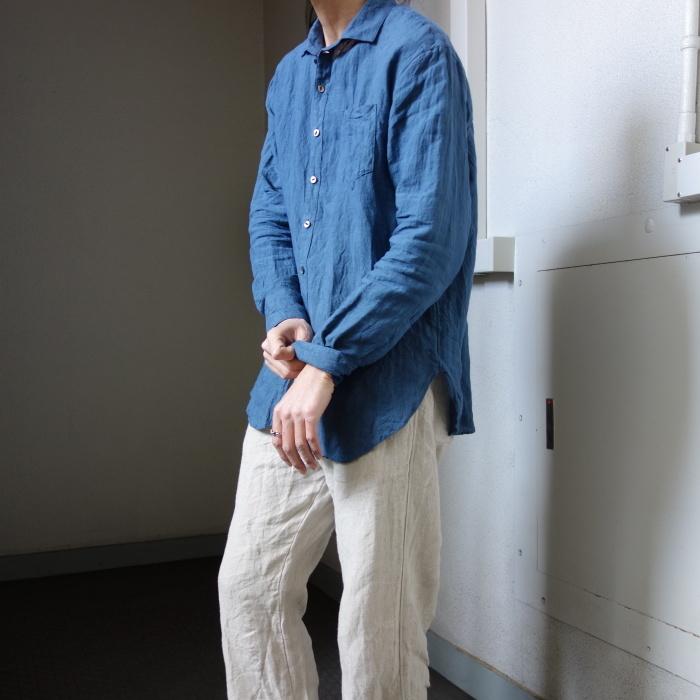 5月の製作 / DA linen easy shirt_e0130546_13353127.jpg