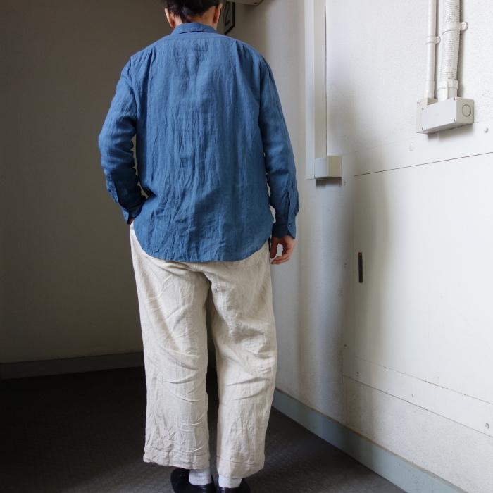 5月の製作 / DA linen easy shirt_e0130546_13355803.jpg