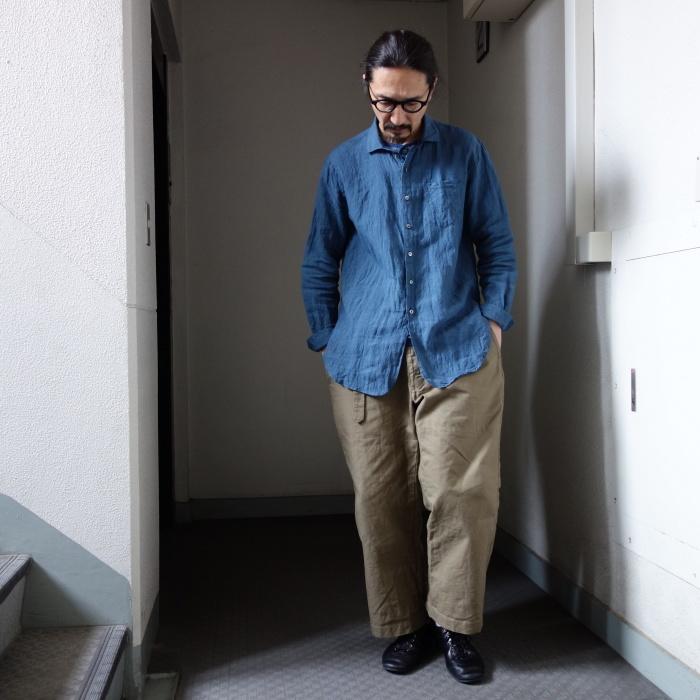 5月の製作 / DA linen easy shirt_e0130546_13361511.jpg