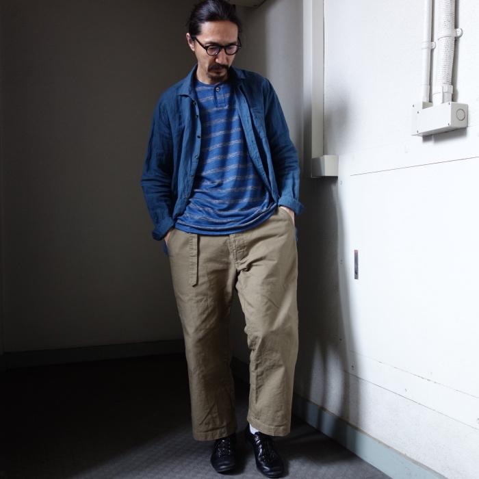 5月の製作 / DA linen easy shirt_e0130546_13363039.jpg