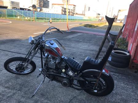 66アーリーchopperプチロング試乗〜 2/27/2020_c0133351_17003729.jpg