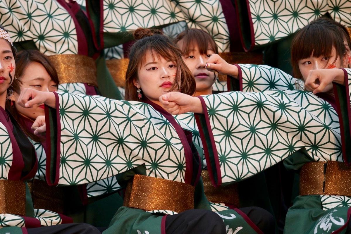 2019かごしま春祭大ハンヤ2日目その43(佐賀大学 嵐舞その2)_a0009554_23230684.jpg