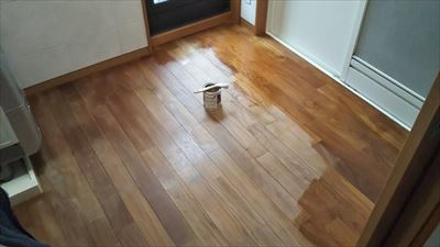 床のメンテナンス_d0165772_18003411.jpg