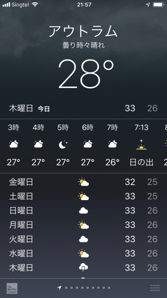 角煮サンド、赤道は雨季あけたかな_f0101128_10473353.jpg