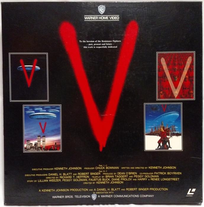 V (1983) & V: THE FINAL BATTLE (1984)_c0047930_04071627.jpg