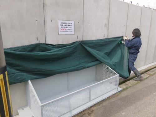 町会ゴミステーションボックス製作・取付工事_f0228240_14442333.jpg