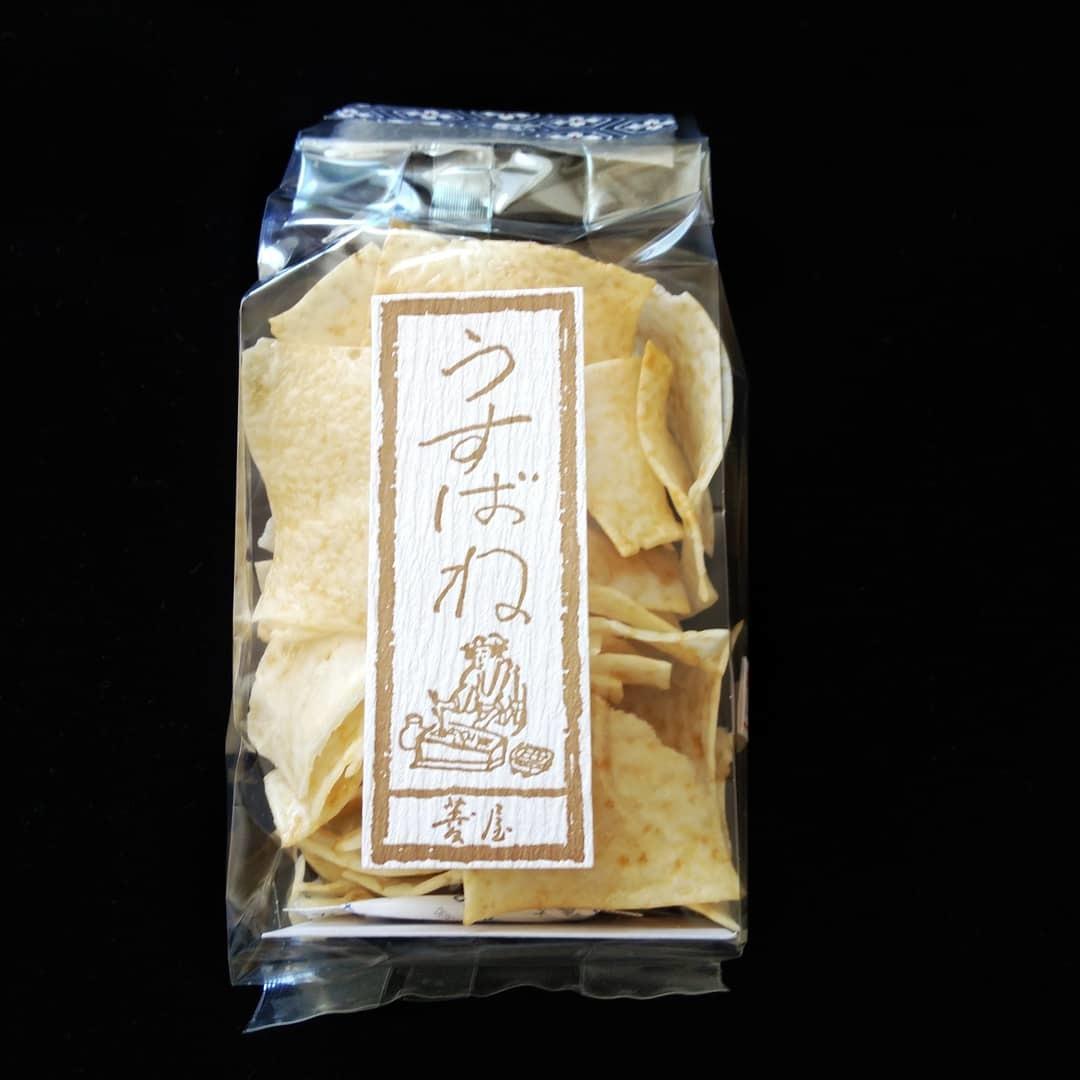 200228 京都・島原のお土産「うすばね」_f0164842_21435200.jpg