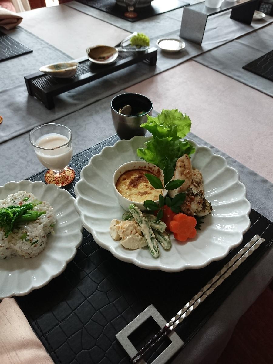 「優しい時間」2月の料理教室が終了しました。_f0323446_16382943.jpg