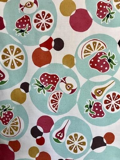 石下結城紬のフルーツ帯を着物・小物とコーディネイト。_f0181251_18560577.jpg