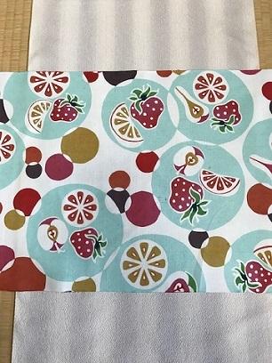石下結城紬のフルーツ帯を着物・小物とコーディネイト。_f0181251_18593102.jpg