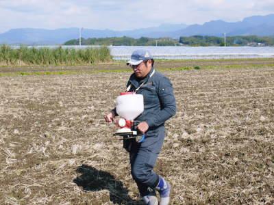 砂田米 熊本県菊池市七城町『砂田のこだわりれんげ米』令和2年もれんげを有機肥料にする土つくりです_a0254656_17370355.jpg