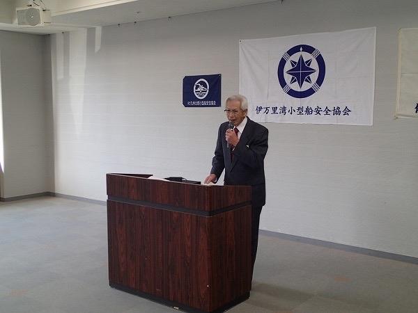 伊万里湾小型船安全協会総会_a0077071_11021589.jpg