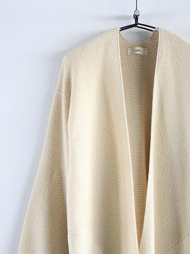 unfil mulberry & raw silk knit cardigan _b0139281_1736128.jpg