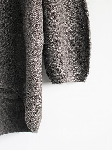 unfil mulberry & raw silk knit cardigan _b0139281_17363076.jpg
