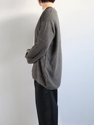 unfil mulberry & raw silk knit cardigan _b0139281_17372153.jpg