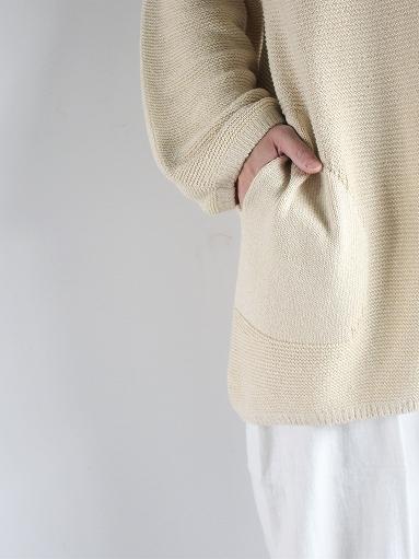 unfil mulberry & raw silk knit cardigan _b0139281_17372887.jpg