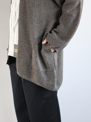 unfil mulberry & raw silk knit cardigan _b0139281_17374579.jpg