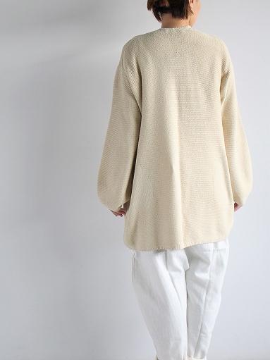 unfil mulberry & raw silk knit cardigan _b0139281_1737560.jpg