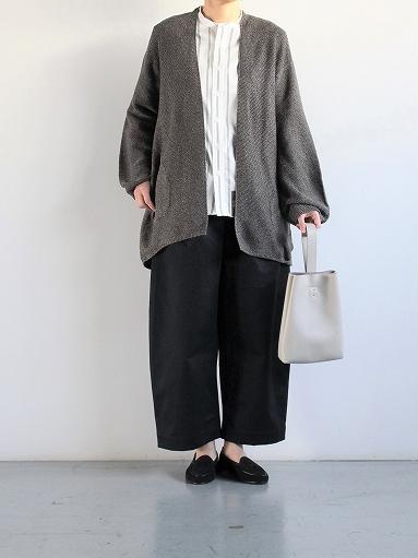 unfil mulberry & raw silk knit cardigan _b0139281_17381559.jpg