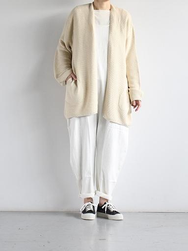 unfil mulberry & raw silk knit cardigan _b0139281_173855.jpg