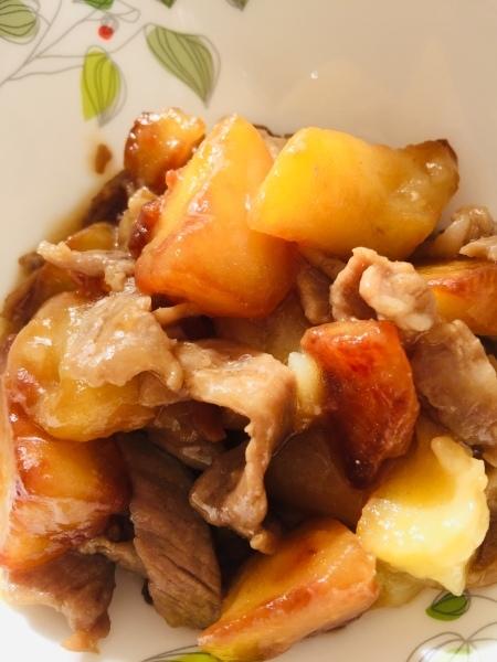 大好きな給食 第1位  [肉じゃが]レシピ_a0239890_13263639.jpg