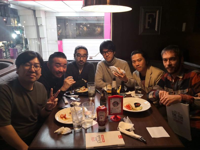 バークリー時代の仲間と飯を食いました。_c0154691_20130766.jpg