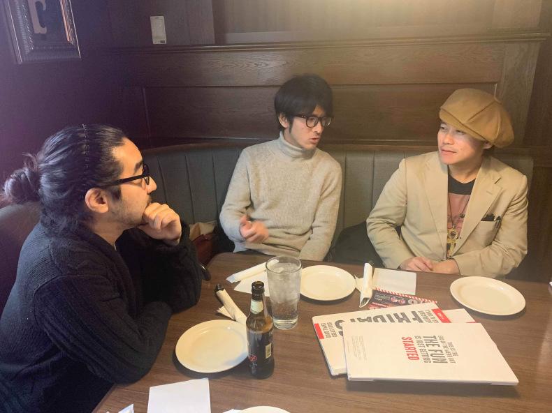 バークリー時代の仲間と飯を食いました。_c0154691_20133827.jpg