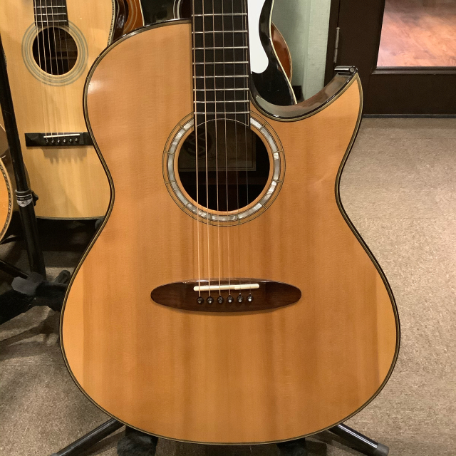 今日の二本目はTaku Sakashitaギター うわ、素晴らしい!_a0334793_16020829.jpg