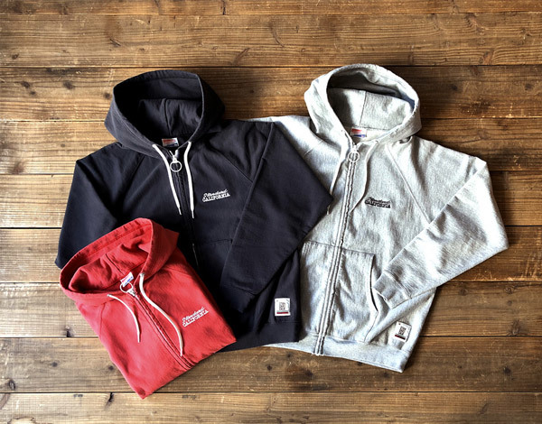 【DELIVERY】 STANDARD CALIFORNIA - US Cotton Zip Hood Sweat_a0076701_17014621.jpg