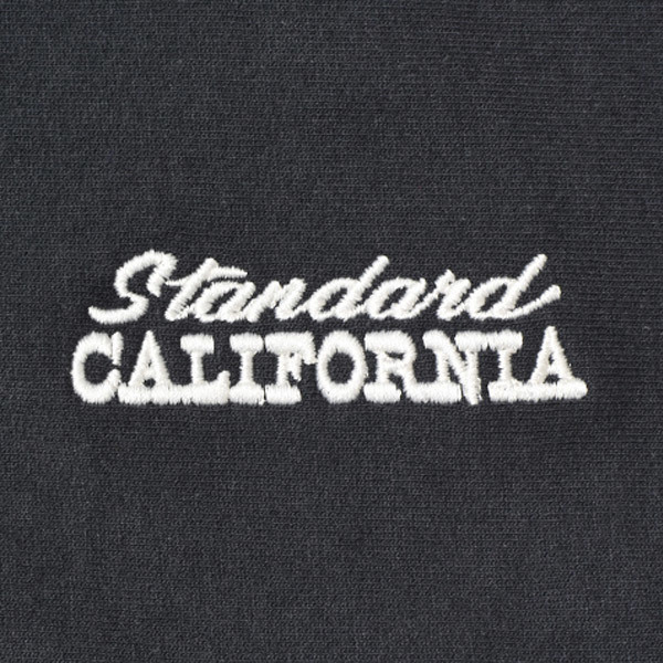 【DELIVERY】 STANDARD CALIFORNIA - US Cotton Zip Hood Sweat_a0076701_17041741.jpg