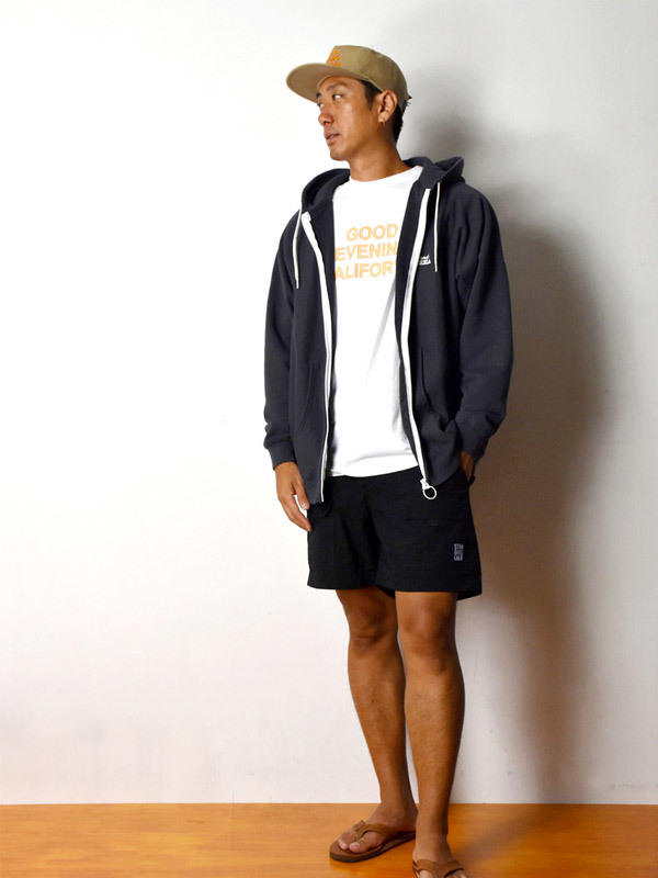 【DELIVERY】 STANDARD CALIFORNIA - US Cotton Zip Hood Sweat_a0076701_17043272.jpg