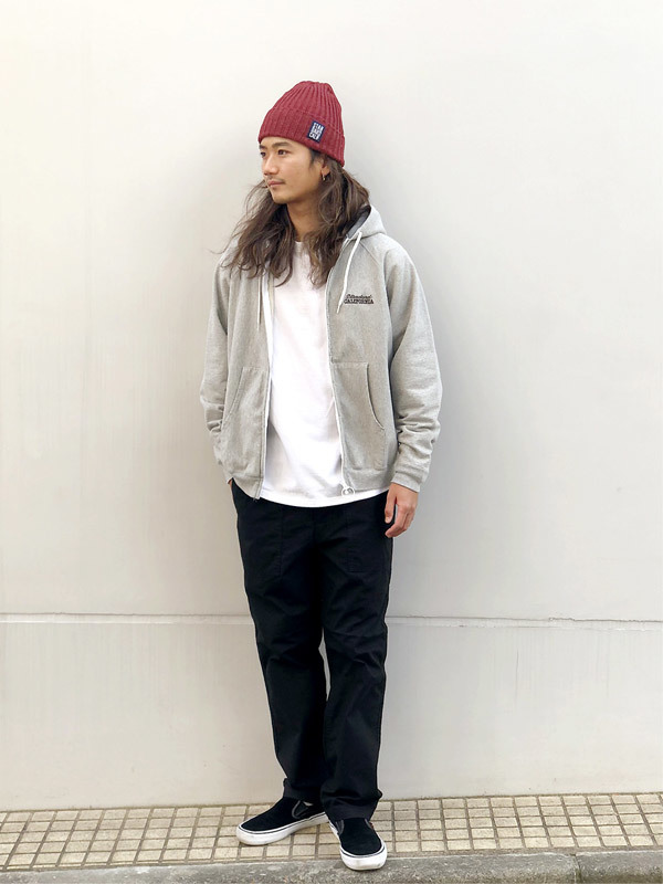 【DELIVERY】 STANDARD CALIFORNIA - US Cotton Zip Hood Sweat_a0076701_17044283.jpg