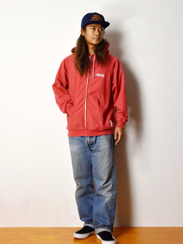 【DELIVERY】 STANDARD CALIFORNIA - US Cotton Zip Hood Sweat_a0076701_17044868.jpg