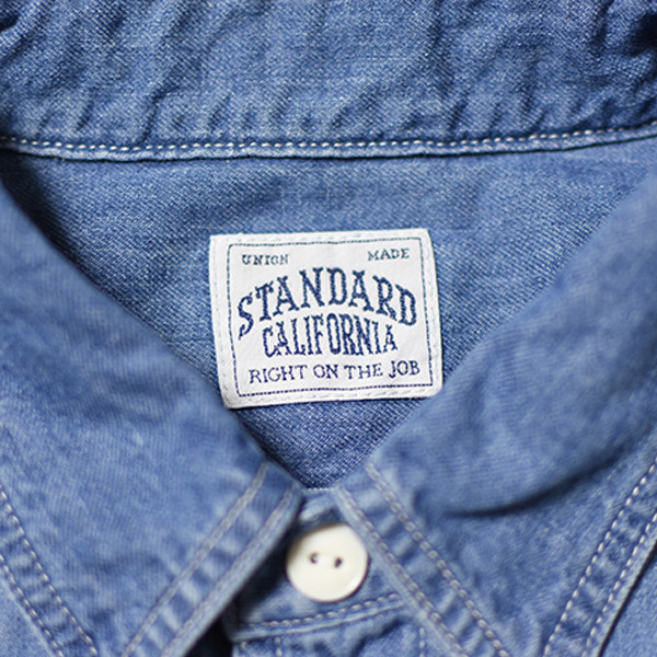 【DELIVERY】 STANDARD CALIFORNIA - Denim Work Shirt_a0076701_17121731.jpg