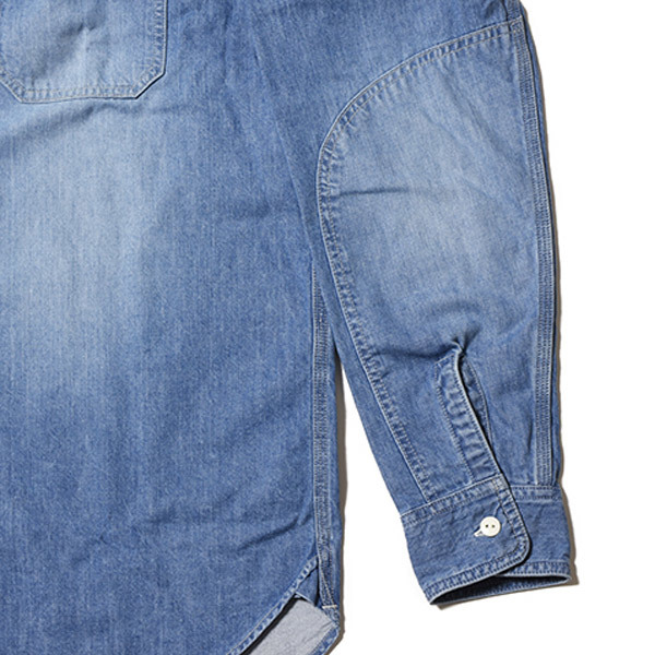 【DELIVERY】 STANDARD CALIFORNIA - Denim Work Shirt_a0076701_17124648.jpg