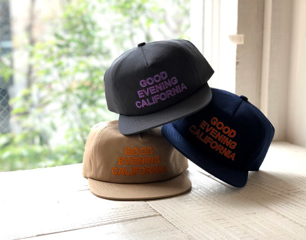【DELIVERY】 STANDARD CALIFORNIA - Good Evenimg California Twill Cap_a0076701_17172458.jpg
